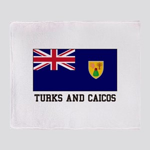 Turks and Caicos Throw Blanket